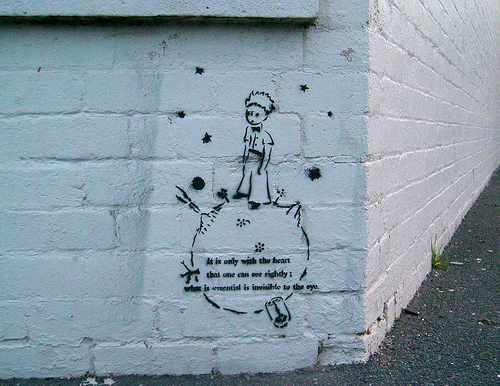 little prince graffiti