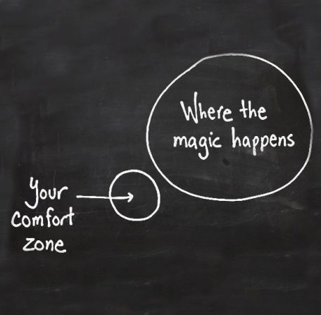 pushing your comfort zone